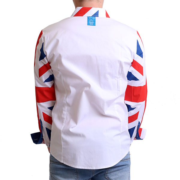 Union jack shirt, Party Shirt, Loud Shirt, Mutts Nuts, Shite Shirt, Loud Party Shirt