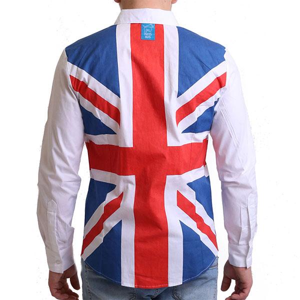 Union jack shirt, Party Shirt, Loud Shirt, Mutts Nuts, Shite Shirt, Loud Party Shirt