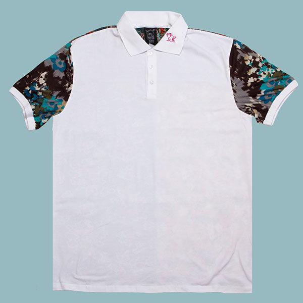 Golf Shirt, Patterned Golf shirt, Short sleeved, Flower shirt, Part Shirt, Loud Shirt, Mutts Nuts, Shite Shirt, Loud Party Shirt, Pattern Shirt